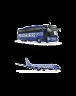 Lennot ja bussi Helsinki - Kööpenhamina - Pietari - Helsinki