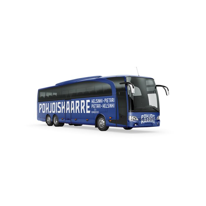 Bussi 16.6.2021 Kuopio-Varkaus-Mikkeli-Lappeenranta-Pietari ja takaisin