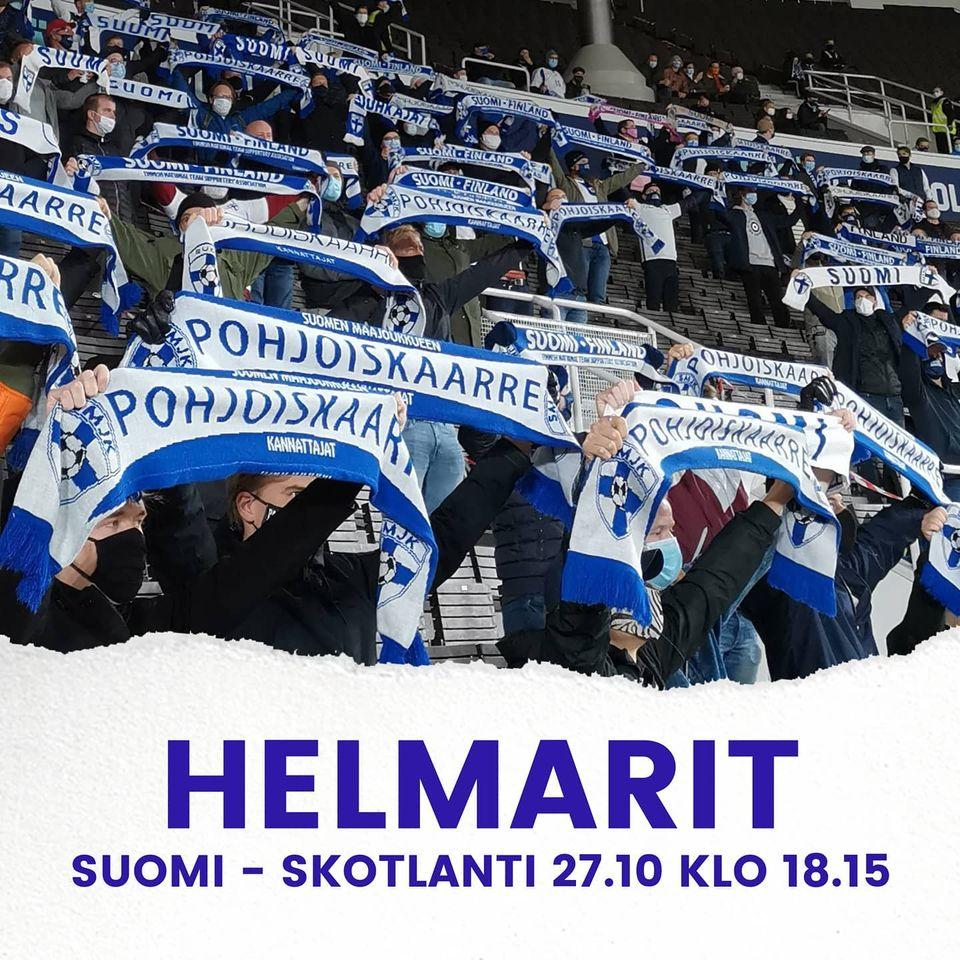 Suomi - Skotlanti 27.10. klo 18.15